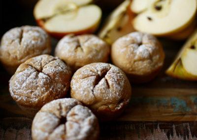 Stary Byron ciastka z jabłkami